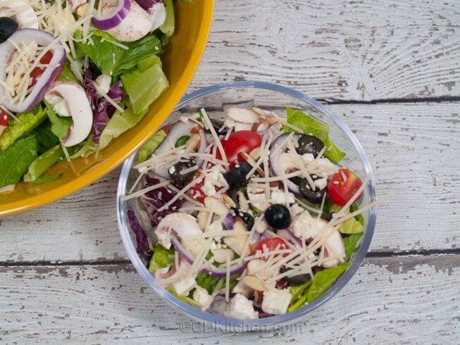 Classic Tossed Salad Recipe Cdkitchen Com