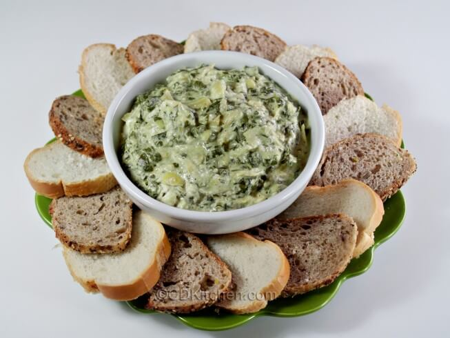 recipe for spinach and artichoke dip