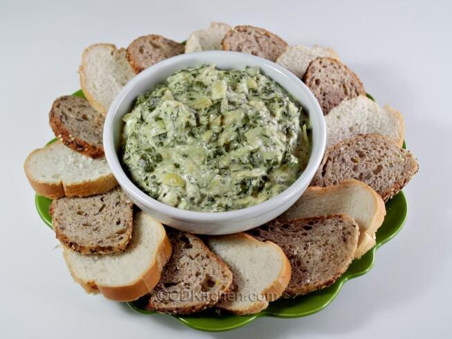 recipe for spinach and artichoke dip