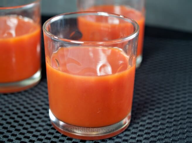 Spicy Crock Pot Tomato Juice Recipe from CDKitchen