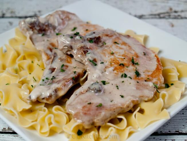 Crock Pot Pork Chops In Cream Of Mushroom Soup Recipe From Cdkitchen