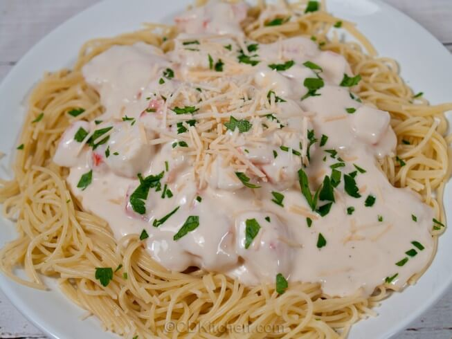 Easy recipes with crab meat pasta