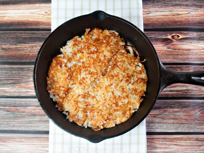 Waffle house style hash browns recipe