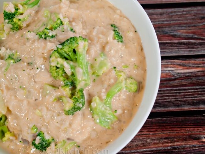 recipe for broccoli and rice with cheese