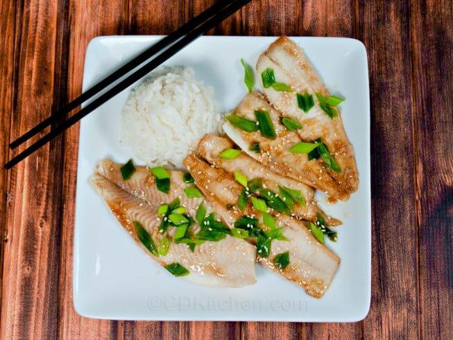 Asian style pollock recipe for Pollock fish recipe