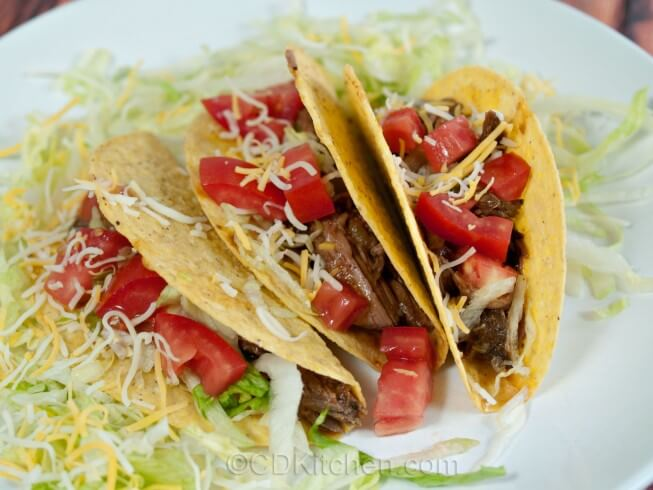 photo of Shredded Beef Tacos