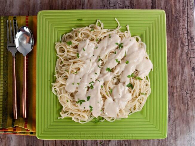 Copycat Olive Garden Alfredo Sauce Recipe | CDKitchen.com