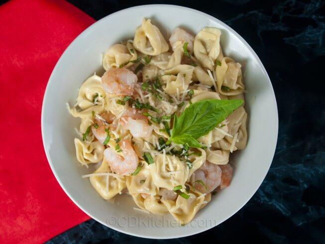 photo of Shrimp Tortellini