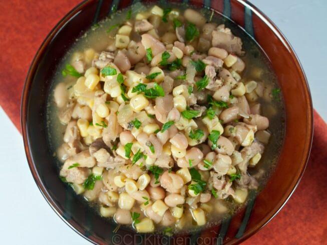 Crock Pot White Chicken Chili With Corn Recipe Cdkitchen Com