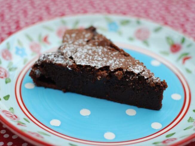 Chocolate Budino Italian Pudding Cake Recipe Cdkitchen Com
