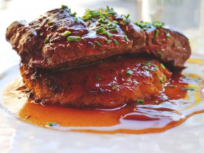 photo of Minute Steak with Gravy