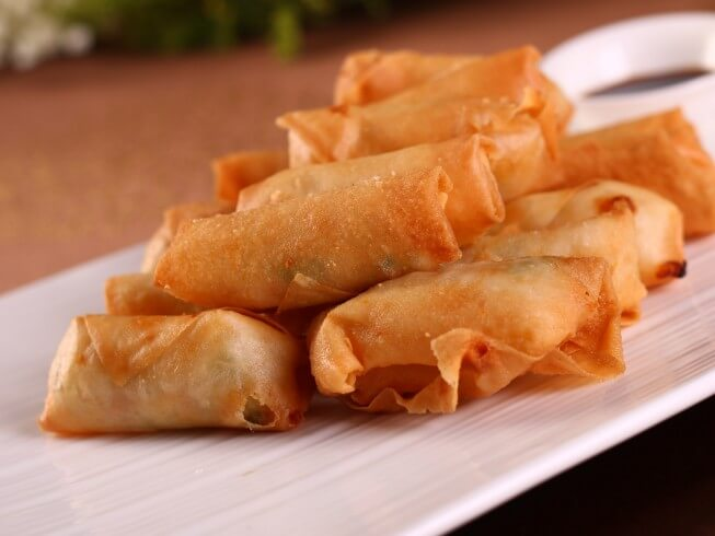 Fried Vegetarian Spring Rolls (Cha Gio Chay) Recipe | CDKitchen.com
