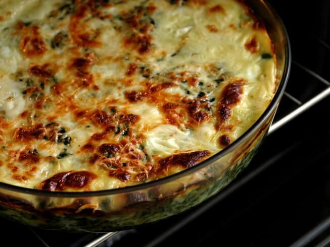 Copycat Houston S Restaurant S Artichoke Spinach Dip Recipe Cdkitchen Com