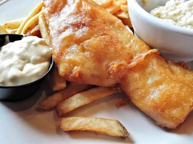Bluefish with beer batter recipe for Fish fry batter recipe