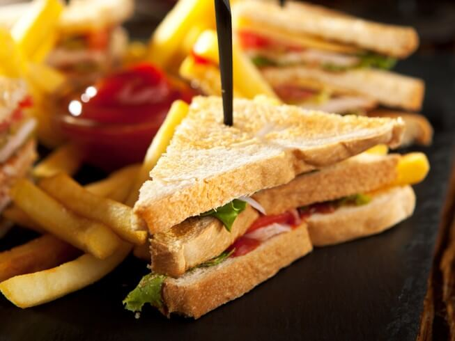 Contemporary Club Sandwich Recipe Cdkitchen Com