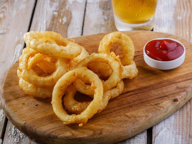 Tempura Batter Onion Rings