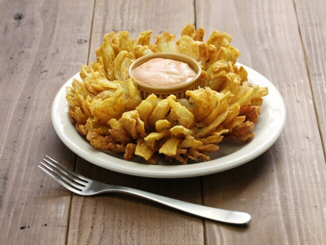 photo of Outback Steakhouse Bloomin' Onion
