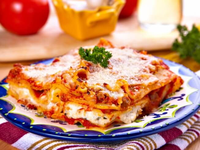 Quick and easy microwave lasagna recipe cdkitchen photo of quick and easy microwave lasagna forumfinder