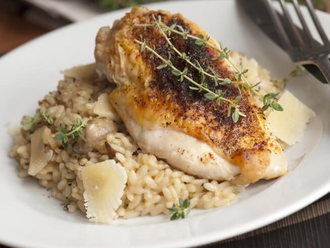 Baked Pheasant And Rice Recipe Cdkitchen Com