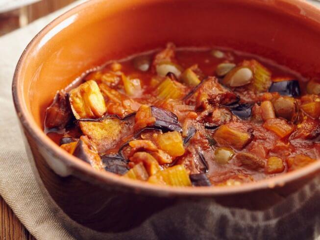 Caponata (Italian Eggplant Relish) Recipe | CDKitchen.com