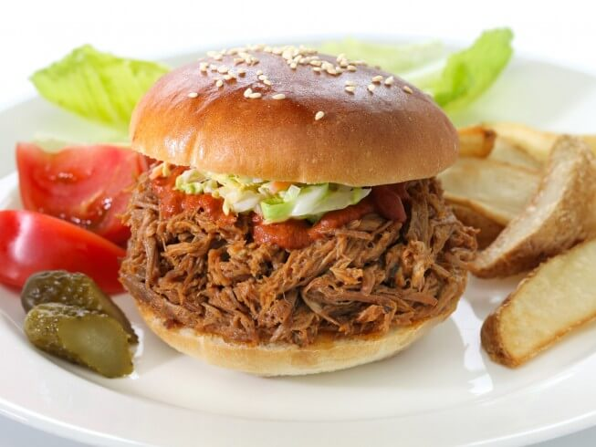 photo of Pulled Pork With Root Beer Barbecue Sauce