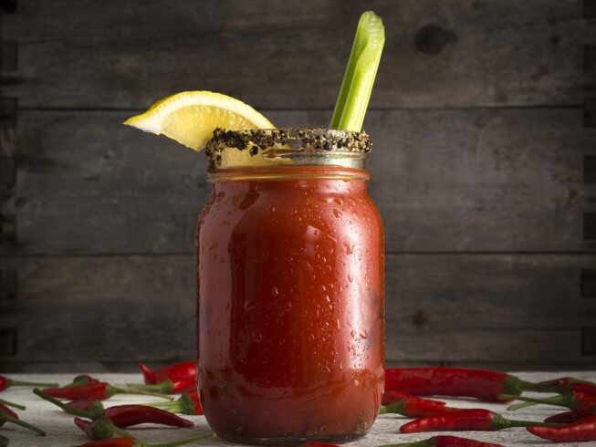 recipe for hot bloody mary