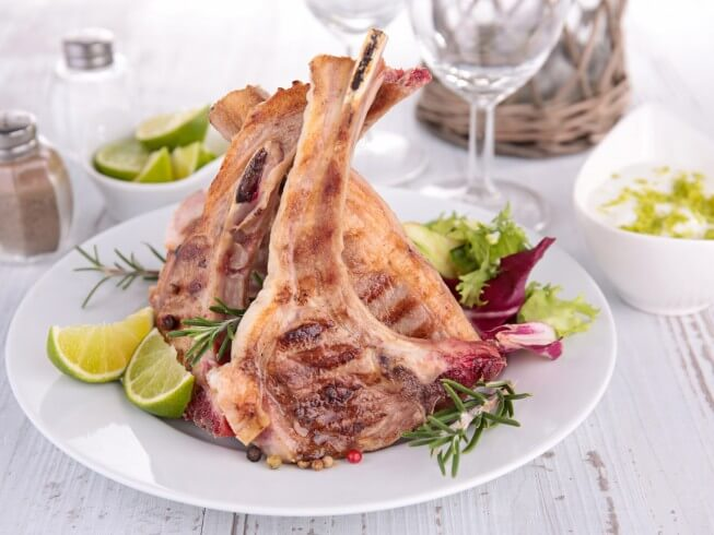 Photo Of Seasoned Lamb Chops