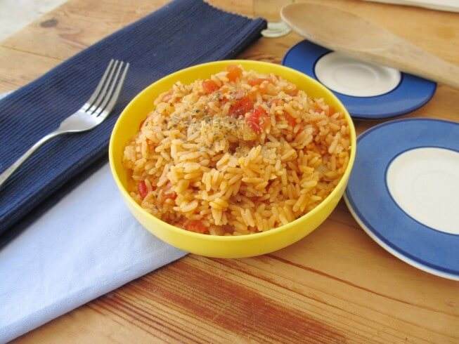spanish rice for a crowd recipe cdkitchen com