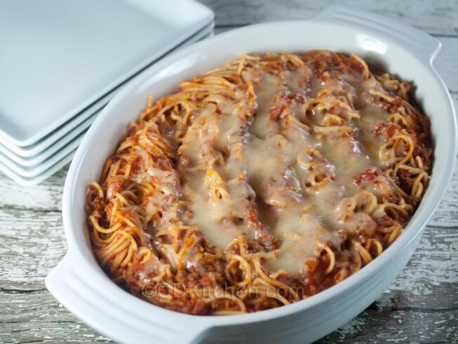 photo of Baked American Spaghetti