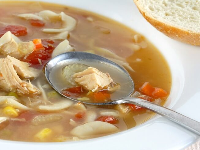 recipe for turkey soup