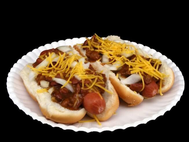 All American Chili Dog Recipe | CDKitchen.com