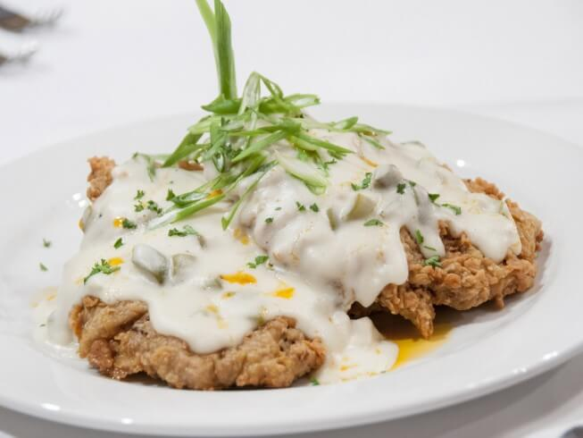 Country Fried Steak With Mushroom Gravy Recipe | CDKitchen.com