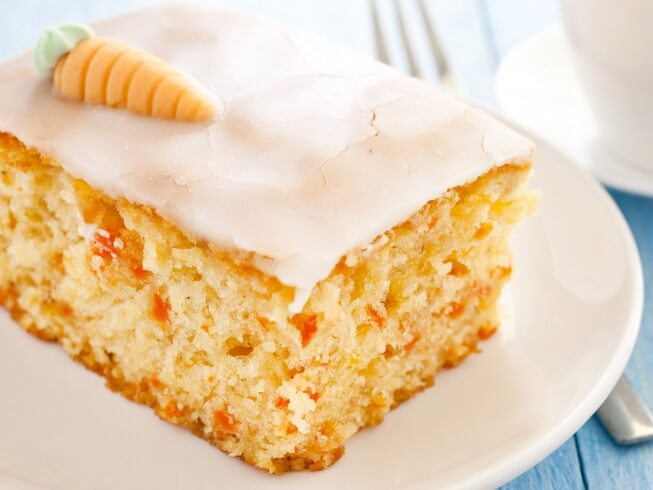 Carrot Cake Made With Yellow Cake Mix