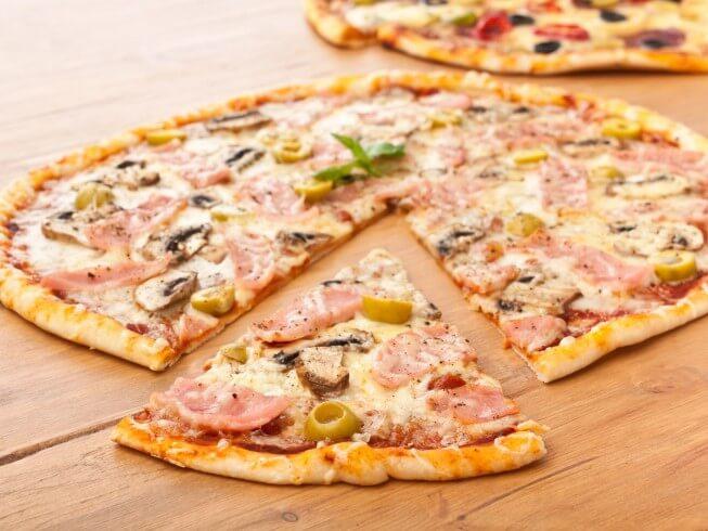 Thin Crust Pizza Dough Recipe | CDKitchen.com