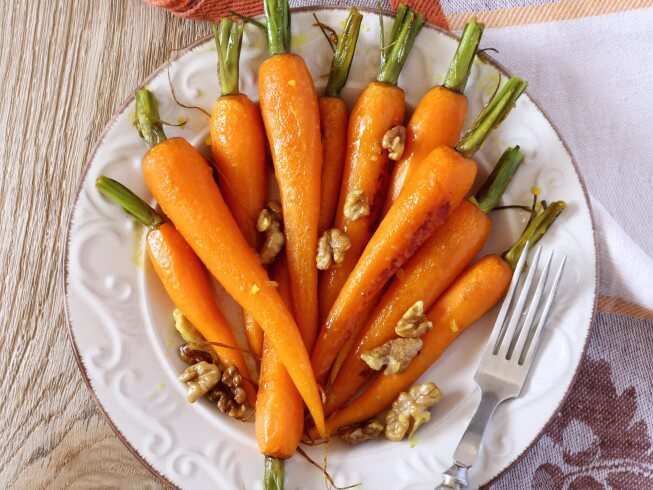 how to make glazed carrots in crock pot