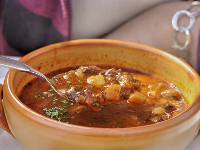 Bohemian Goulash Soup Recipe Cdkitchen Com