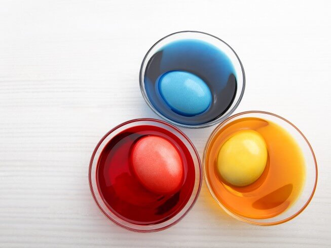Colored eggs recipe cdkitchen photo of colored eggs forumfinder Choice Image