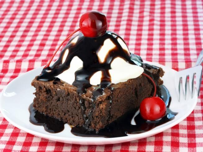 photo of Chili's Chocolate Brownie Sundae