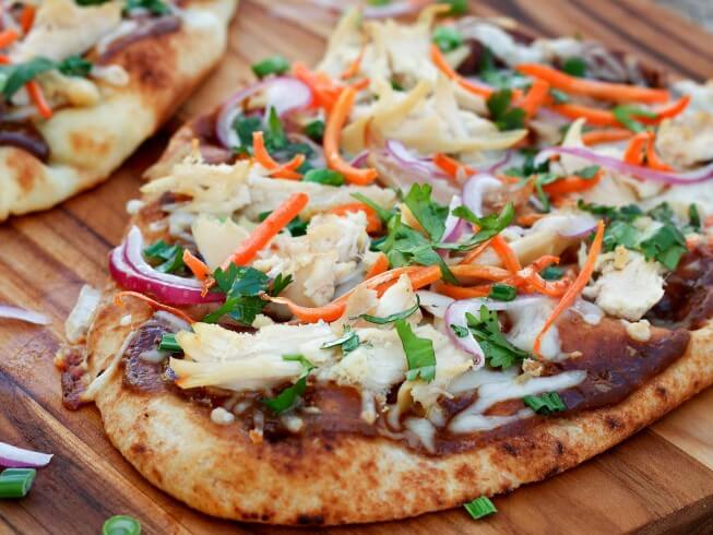 Copycat California Pizza Kitchen\'s Thai Chicken Pizza Recipe ...