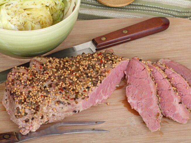 Home-Cured Corned Beef Recipe   CDKitchen.com