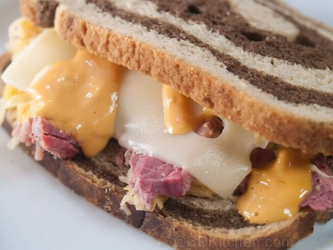 recipe for reubens with corned beef brisket