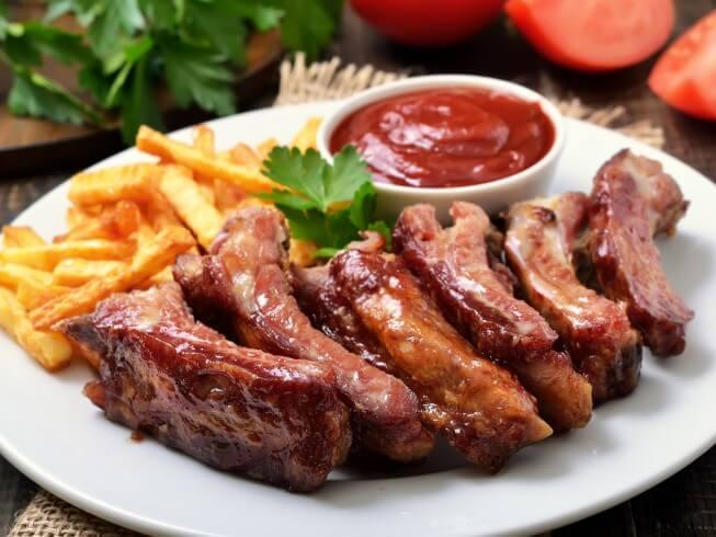 Crock Pot Barbecue Pork Loin Ribs Recipe Cdkitchen