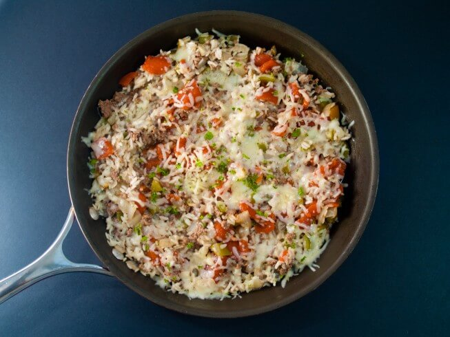 photo of Beef And Rice Skillet