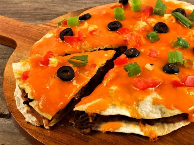 photo of Double-Decker Mexican Pizza