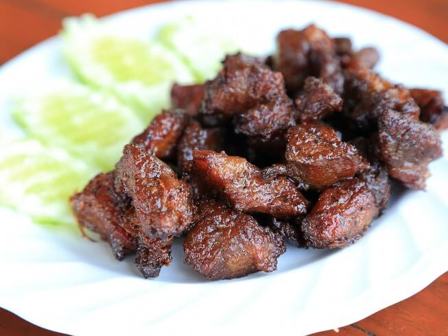 Asian beef hors d 39 oeuvres recipe for Beef canape ideas