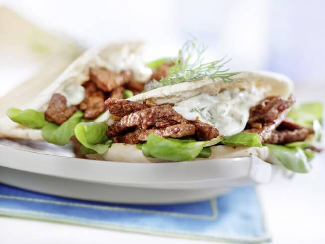 photo of Beef Gyros Appetizers