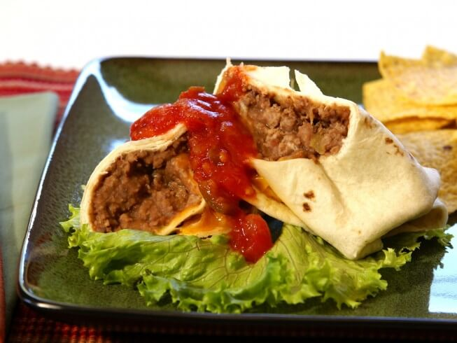 Copycat Taco Bell Chili Cheese Burrito Recipe Cdkitchen Com