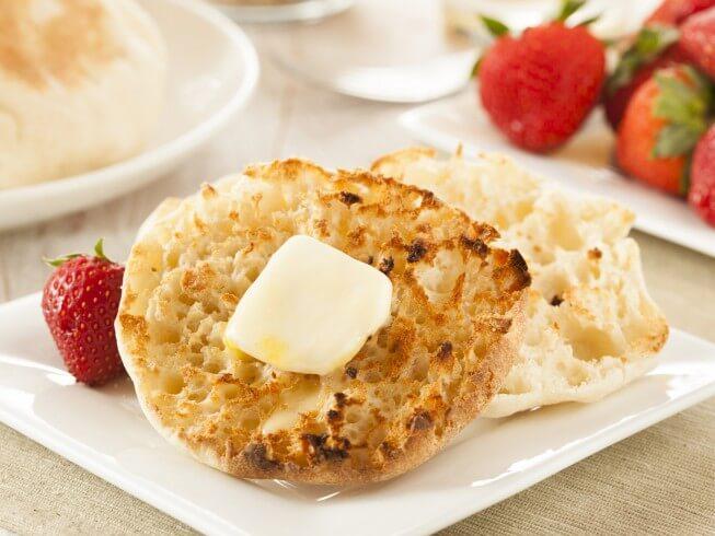 English muffin recipes cdkitchen recipe for bread machine english muffins forumfinder Images
