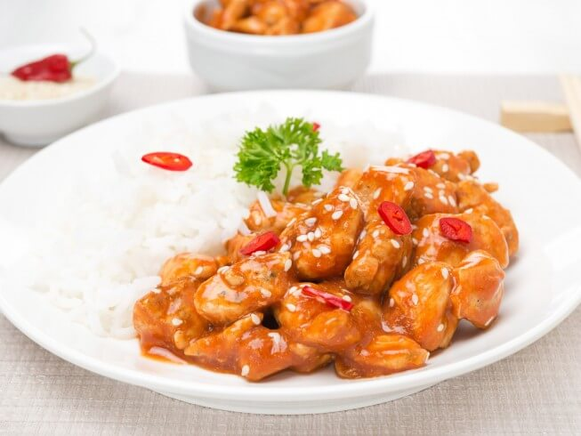 Copycat P F Chang S Spicy Chicken Recipe Cdkitchen Com
