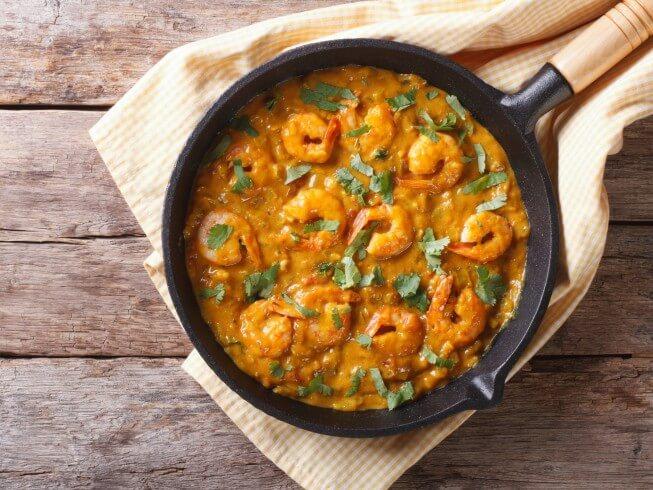 Bhagari Jhinga (Indian Shrimp Curry) Recipe | CDKitchen.com